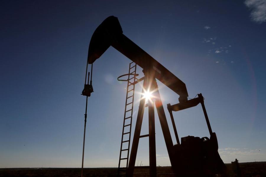 Texas oil pump jack