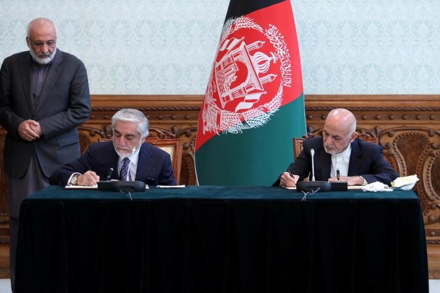 Afghanistan power-sharing deal1