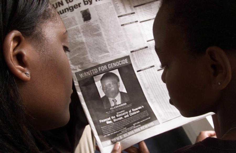 Felicien Kabuga wanted poster