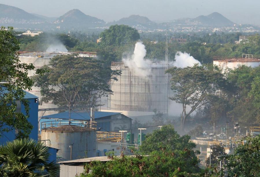 India gas plant leak1