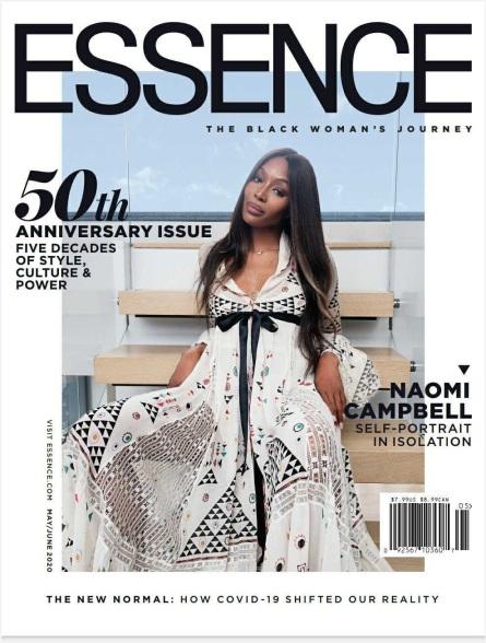 Naomi Campbell Essence Magazine cover 1