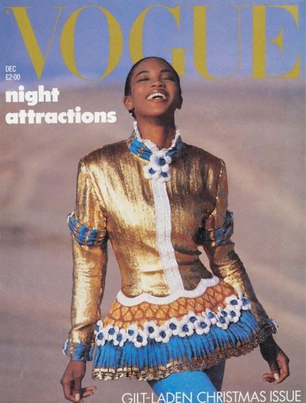 Naomi Campbell Vogue Magazine cover