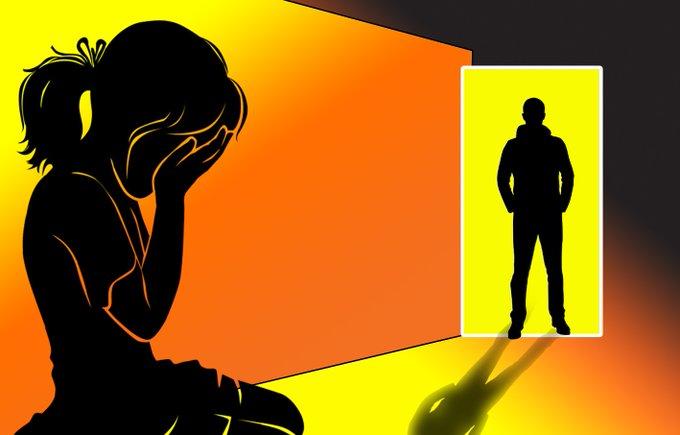 Rape illustration photo