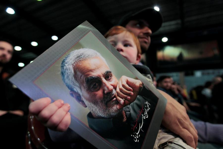 Soleimani tribute