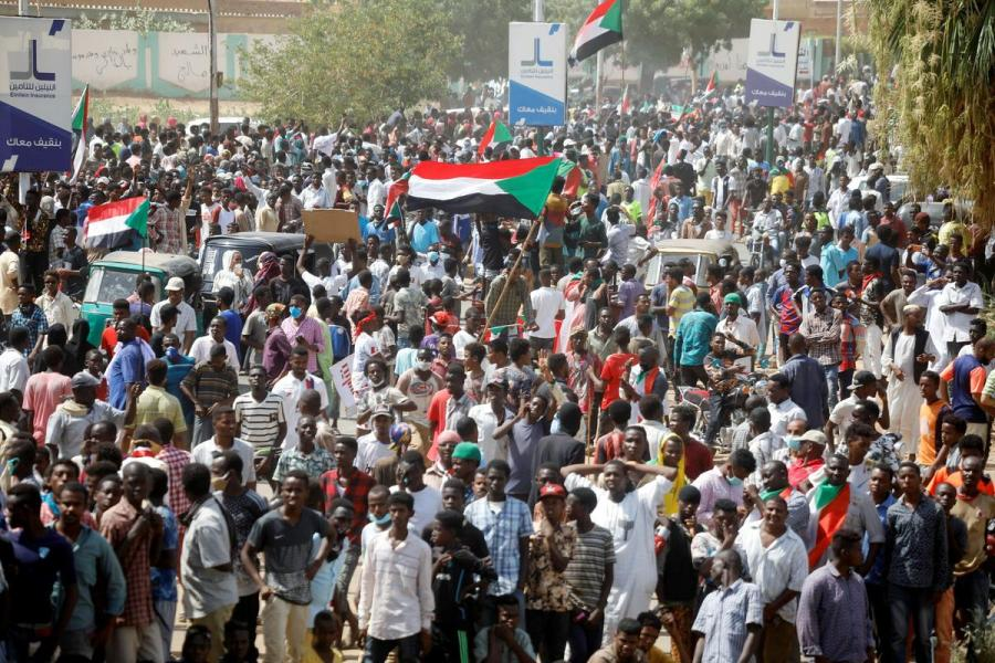 Sudan demonstrations1