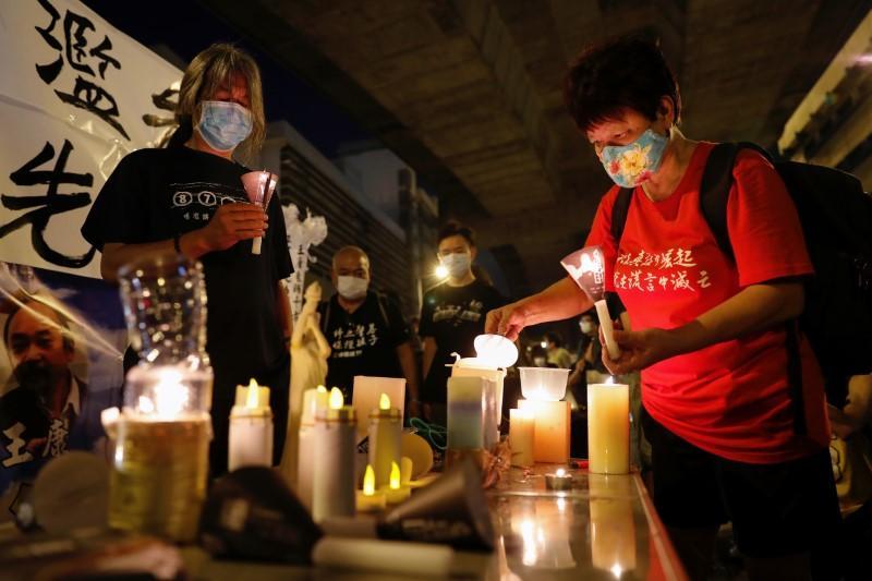 Tiananmen Square anniversary vigil1