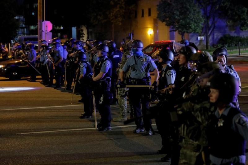 U.S. police patrol