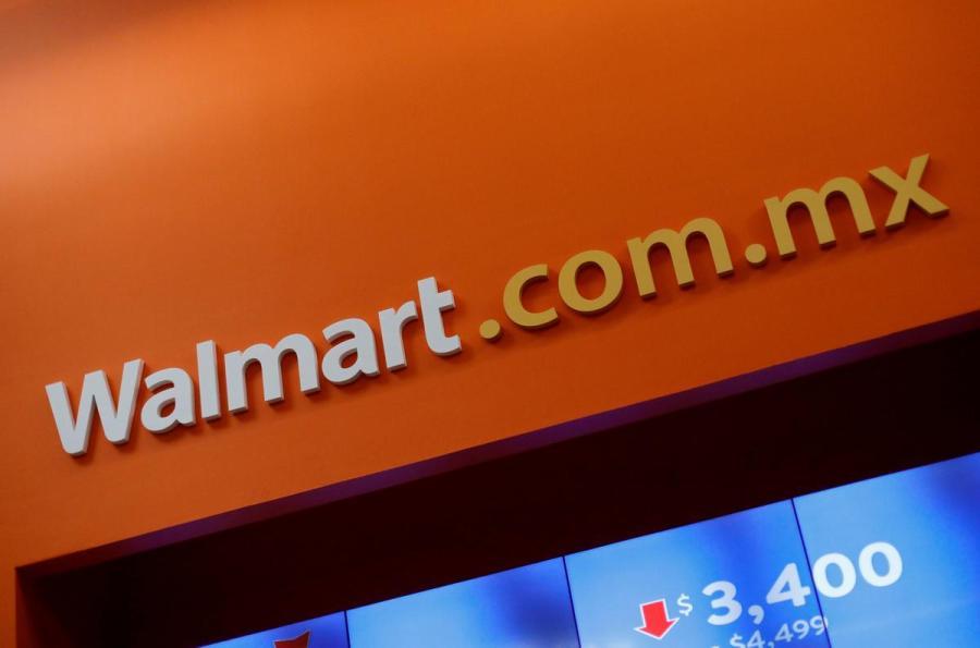 Walmart Mexico sign