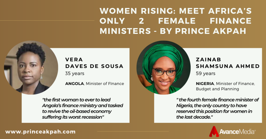 Women Rising - Meet Africa's Only 2 Female Finance Ministers - by Prince akpah