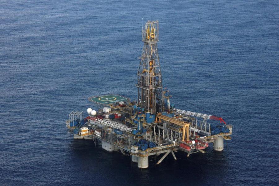 Homer Ferrington drilling rig