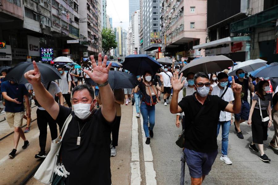 Hong Kong security protests10
