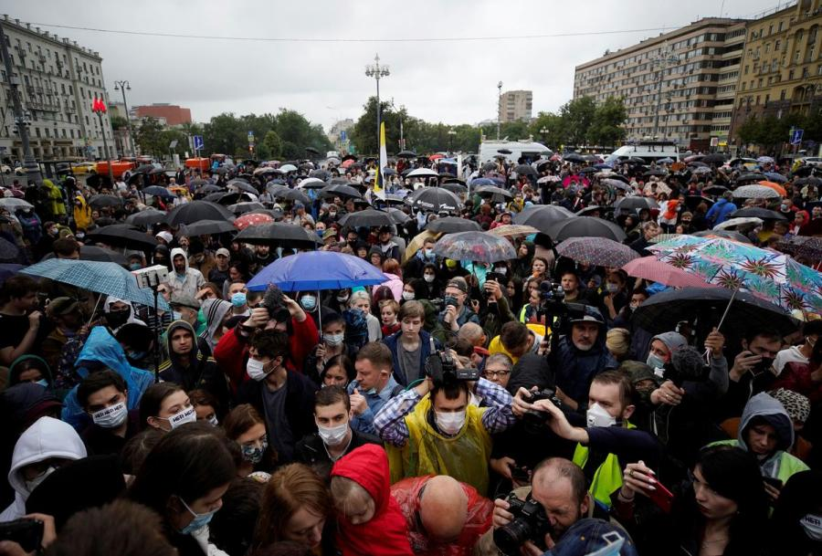 Russia constitutional reforms protest4