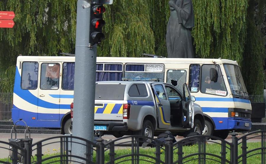 Ukraine bus hijack1