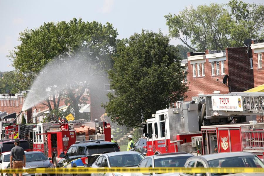 Baltimore explosion1