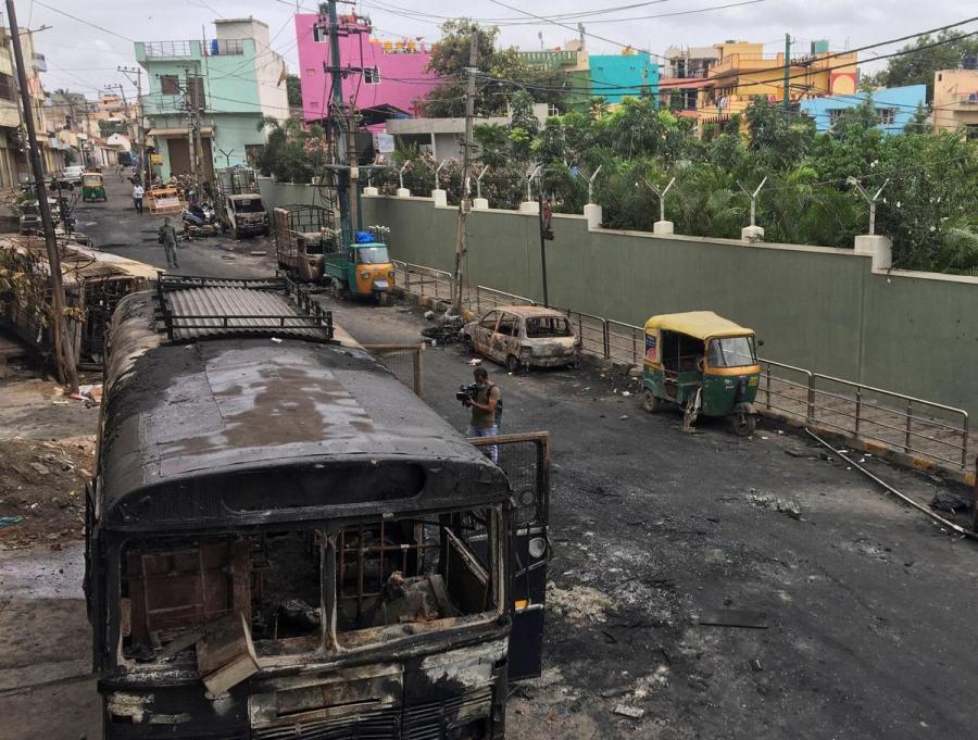 Bengaluru clashes