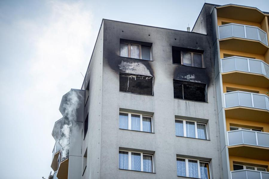 Czech apartment building1