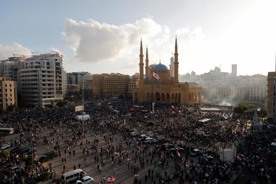 Lebanon protests1