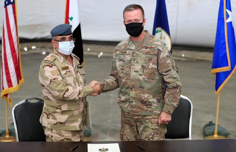 Major General Kenneth Ekman and Brigadier General Salah Abdullah1