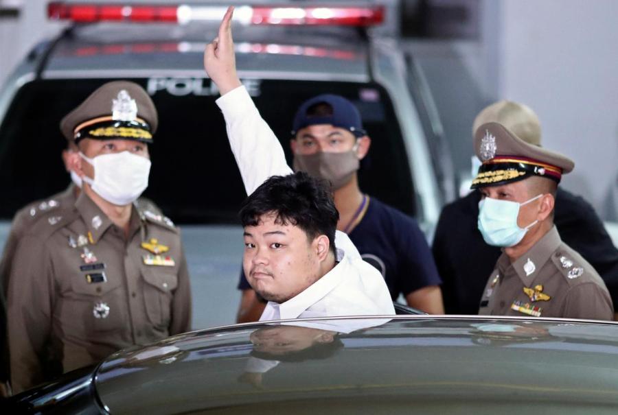 Parit Chiwarak arrest1