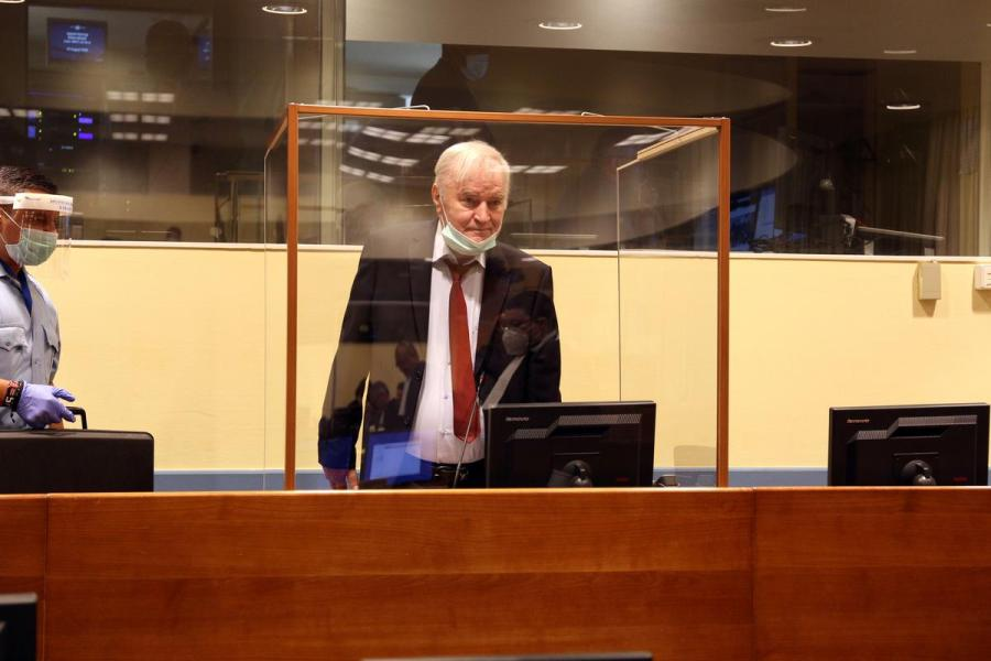 Ratko Mladic appeal1