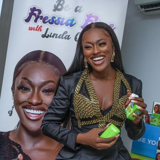 Linda Osifo Fressia Skin Glow ambassadorial deal2